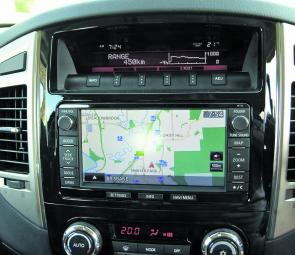 Owners will find the Pajero's Sat Nav system iand its big screen extremely user friendly.