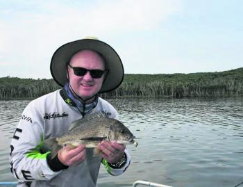 Not a bad little bream! These guys are great fun to catch!