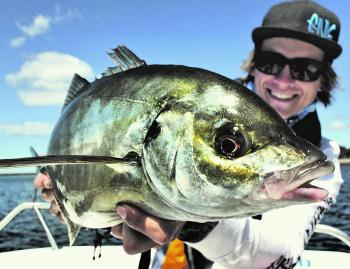 Jarvis Wall has been finding some good trevally on the Northwest Coast.