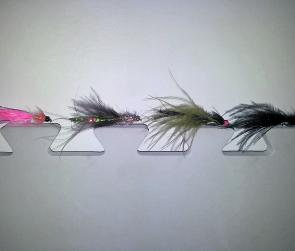 Fly patterns to use around the Ballarat district during the winter months include the black Woolly Bugger, olive Magoo, brown Sparkle Flash Woolly Bugger and an orange Woolly Bugger.
