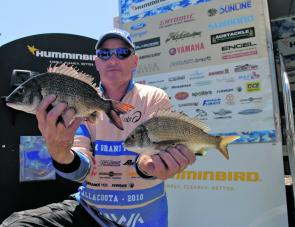 Dean Truman made the most of his local knowledge to finish second and quality for the Humminbird BREAM Grand Final in November.