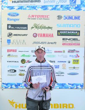 Champion non-boater Troy Hamilton continue his hot non-boating form from last year, claiming the win in his local event.