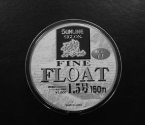 Sunline Siglon Fine Float line is perfect for drift rigging.