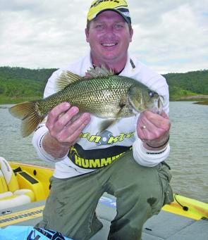 Tim 'was the bream' Morgan's Big Bass.