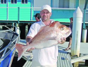 Good snapper can been found hanging around the close reefs.