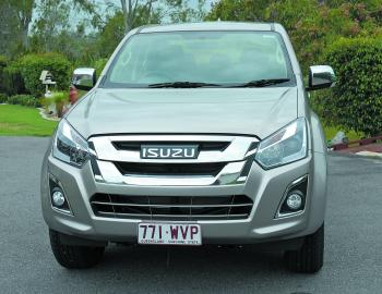 Some styling enhancements up front easily set this year's Isuzu D-Max apart from the previous model.