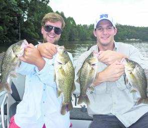 Toby and John had a ball fishing creek mouths with Sydney Sportfishing Adventures, landing well over 60 fish for the session. These great bass were released after a quick photo.