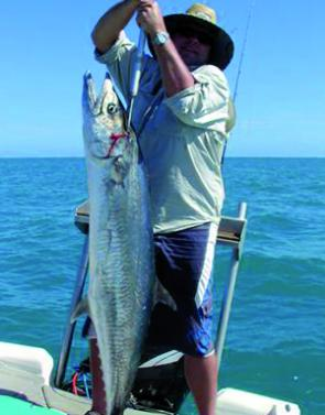 Spanish mackerel have been firing offshore and in the bay over winter.