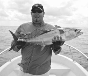 It's a good time of year to chase longtail tuna in Hervey Bay and beyond.