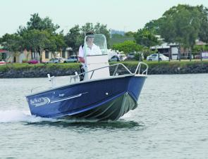 The Blue Fin Ranger is an angler-friendly centre console with quite a few creature comforts for the family.