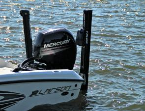 The powerful Mercury 150hp 4-stroke is an ideal match for this rig. It's the top of the ratings for power, but after giving it a good run, it's the option I would look at.