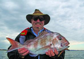 The snapper season has been sensational and October should be great, especially with soft plastics.