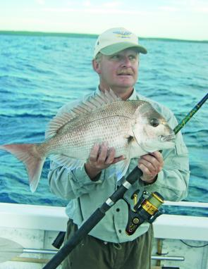 Summer snapper are a good standby, particularly if the weather is bad and you can't get out into the gamefish.
