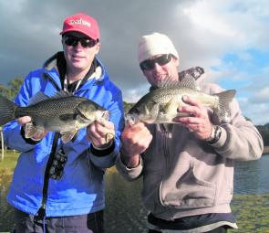Bass in the dams get right into action this month.