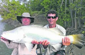 New guide Groover has certainly got right into the groove with 1m barra, but the lack of a real wet season is showing for most others trying.