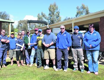 The Grabine Freshwater Fishing Tournament Committee are getting ready for this year's comp in August.