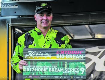 The Atomic Big Bream was won by the 8th place-getter in the Open Division, Tony Pettie from Traralgon in Victoria.