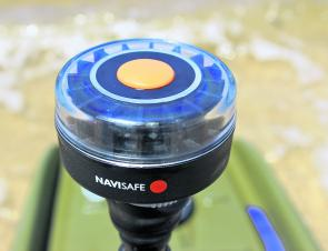 The LED Navisafe Light ensures you are visible when travelling or fishing at night.