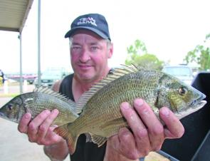 Champion boater Dean Truman scored his first BREAM victory with two consistent days fishing crankbaits in the shallows.