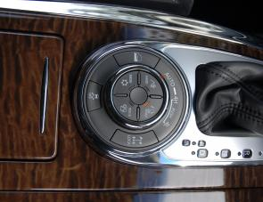 A console dial allows for selection of various modes on the fly.