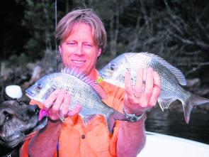A little berley goes a long way in attracting bream – don't feed the fish, make them hungry!
