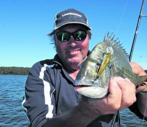 Trolling for bream with hardbodied lures is my fall-back plan if other approaches don't work.