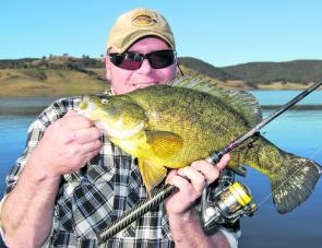 Results from a no-holds-barred approach to Lake Lyell bass. You're not fishing for yellas now, son – well done, Muz!