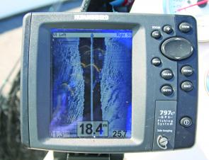 Side-imaging sounders make fishing the inshore reefs a lot easier and very productive because you don't have to drive over the reef to see what is under your boat.