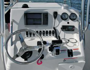Sea Fox rightly state the 226 Pro Series Centre Console's dash layout is 'full'.
