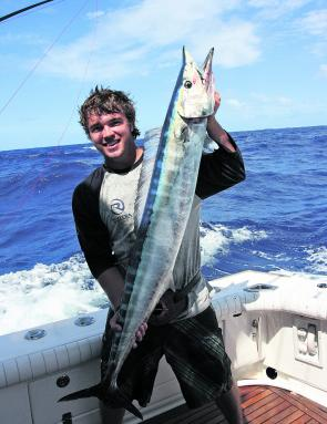 Bigger wahoo and the odd massive Spaniard will be the target for offshore trollers in May.