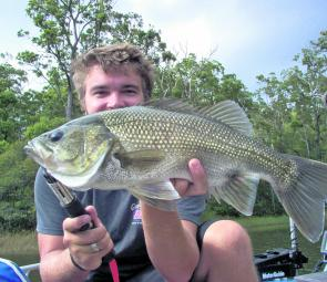 Bigger bass will be starting to chew as the water cools in the freshwater lakes and rivers.
