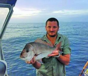 Snapper move in close to spawn this month. Limit your catches and they will still be around in seasons to come. Try slab baits or whole fresh squid for best results.