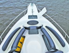 Find a fibreglass bow rider with better anchoring facilities and a 316-grade stainless bow rail!