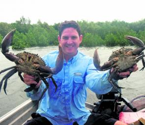 Crabs run big in May, especially on the first cold snap so have your pots ready.