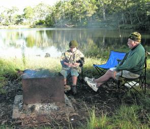 Shore angling is a terrific Winter option. Find a sheltered area and sit it out in the sun.