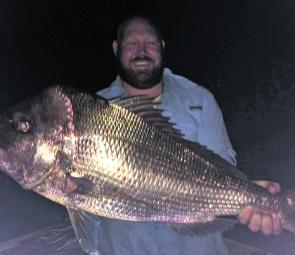 This 9.2kg snapper was caught by John Balcomb off the northern part of the central coast. He was chasing tailor and said the big red gave him an awesome fight on light gear.
