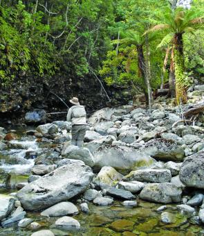 Headwaters are wonderful – not many fish but stunning surrounds.