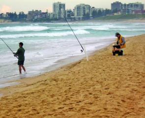 Beach fishing during October can be very productive for bream, whiting, tailor and the odd mulloway.