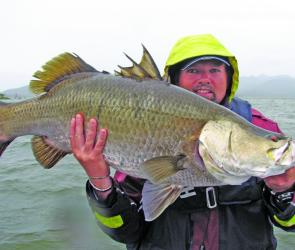 Consistent angler Matthew Mott shows he can catch them rain, hail or shine.