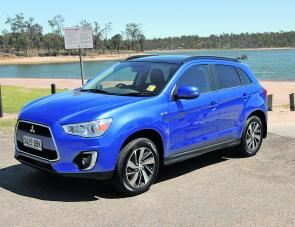 The Mitsubishi ASX is a shapely unit with some cosmetic exterior changes making the car even prettier to look at.