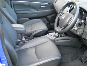 Seating is comfortable in the ASX and there's a lot more room than what might be expected when looking at the exterior.