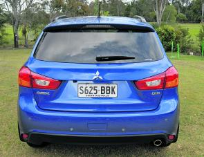 No bells, no whistles, just a small DiD badge proclaiming the ASX as being powered by a Direct Injection Diesel engine.