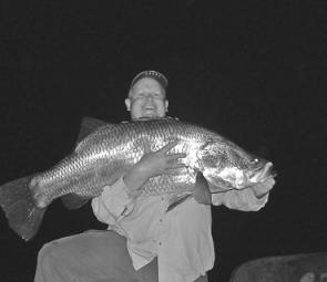 Adrian Lindsay found some great fish for team Spotters at Awoonga during the night event.