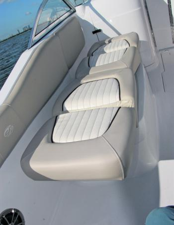 Seats that stretch into decent beds help qualify the Sea Fox 226 Traveller as an all-rounder, particularly for families.