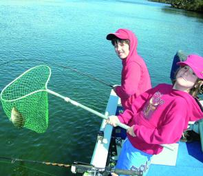 School holidays and kids go hand in hand with fishing fun.