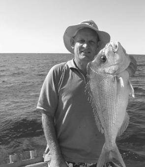 This top shelf snapper came from Sunshine Reef on a Fishing Offshore Noosa charter aboard Trekka.