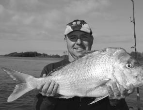 School jewfish numbers tend to increase at this time of year, with good numbers of 3kg to 8kg fish in the lower reachers.