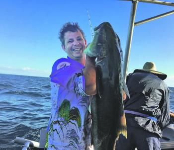 Large cobia have provided some great action.