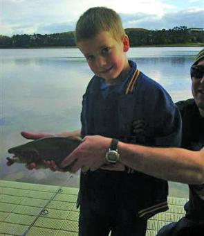 Kids love fishing, and what better way to get them intrigued by the sport than some willing rainbow trout from our metropolitan waterways.