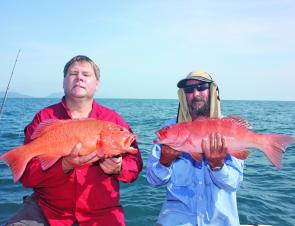 There is some spectacular red fishing on offer in Cooktown this month.